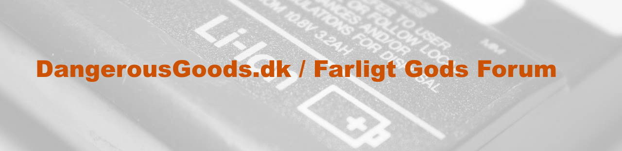 dangerousgoods.dk / Farligt Gods Forum